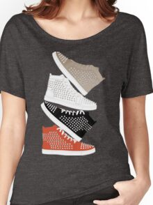 Louboutin mens sneakers in colors Women's Relaxed Fit T-Shirt