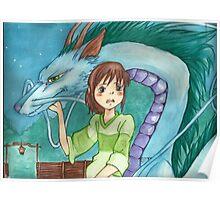 Dragons and Magic - Manga Poster