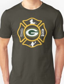 Green Bay Fire - Packers Style T-Shirt