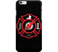 Newark Fire - Devils Style iPhone Case/Skin
