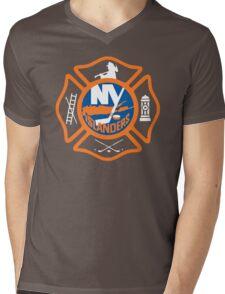 FDNY - Islanders Style Mens V-Neck T-Shirt