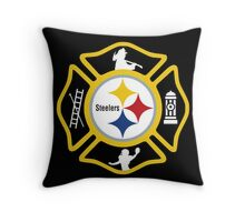 Pittsburgh Fire - Steelers Style Throw Pillow