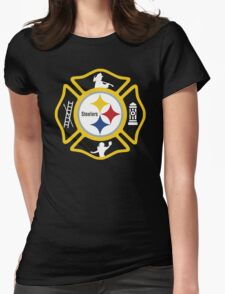 Pittsburgh Fire - Steelers Style Womens Fitted T-Shirt