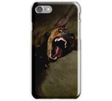Dogs with game face on 666. iPhone Case/Skin