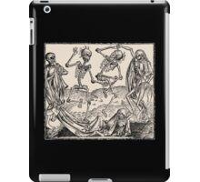 Totentanz / Dance of macabre iPad Case/Skin