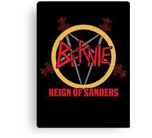 Bernie Reign Of Sanders Canvas Print