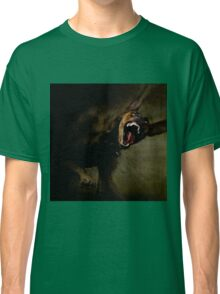 Dogs with game face on 666. Classic T-Shirt