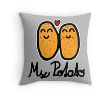 My Potato Throw Pillow