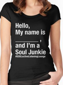 SOULective Listening Lounge Tee - 009 Women's Fitted Scoop T-Shirt