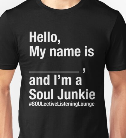 SOULective Listening Lounge Tee - 009 Unisex T-Shirt
