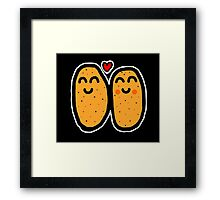 Two Potatoes Framed Print