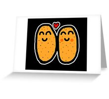 Two Potatoes Greeting Card