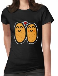 Two Potatoes Womens Fitted T-Shirt