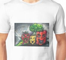 Evil Veggies Plan World Domination Unisex T-Shirt