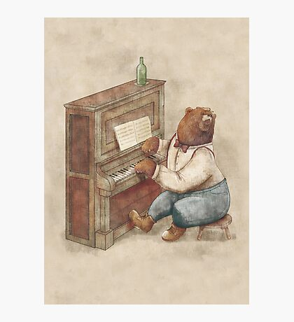 The Pianist Photographic Print