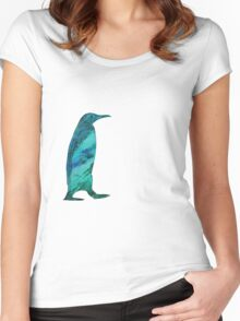 Painted Penguin Women's Fitted Scoop T-Shirt