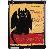Le Dragon Noir iPad Case/Skin