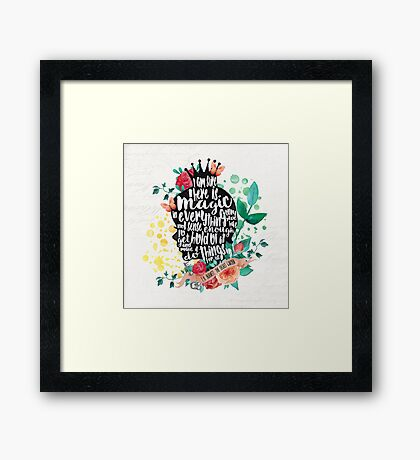 The Secret Garden - Magic Framed Print