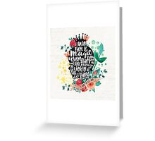 The Secret Garden - Magic Greeting Card