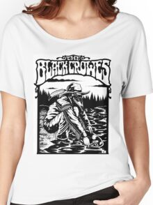 the black crowes gagak white 2016 Women's Relaxed Fit T-Shirt