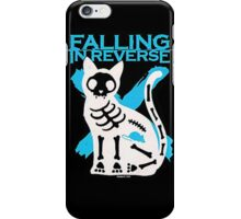 Falling In Reverse Skeleton Cat iPhone Case/Skin