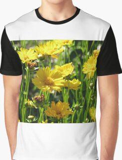 YELLOW FLOWERS Graphic T-Shirt