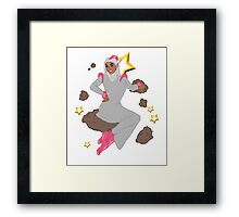 Star Girl with Antenna Framed Print