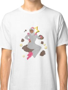 Star Girl with Antenna Classic T-Shirt
