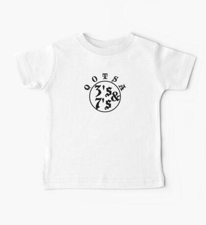 Qotsa 3s & 7s Baseball Shirt Design Baby Tee