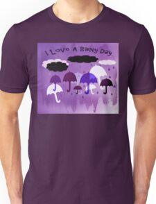 I Love A Rainy Day Unisex T-Shirt