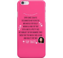 Top That with Polly iPhone Case/Skin