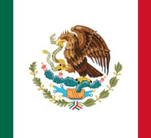 Mexico Flag Stickers Sticker