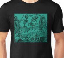 Totentanz / Dance of macabre - green Unisex T-Shirt