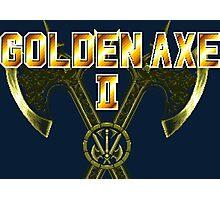 Golden Axe II (Sega Genesis Title Screen) Photographic Print