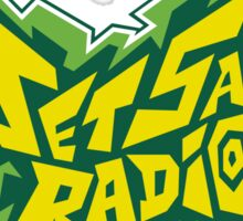 Jet Save Radio Sticker