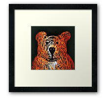 Honey Bear Large Framed Print