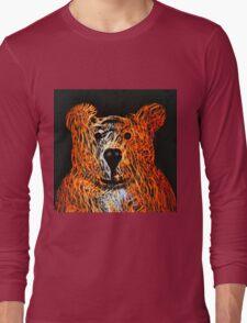 Honey Bear Large Long Sleeve T-Shirt