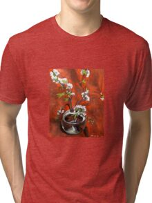 green gage blossoms  Tri-blend T-Shirt