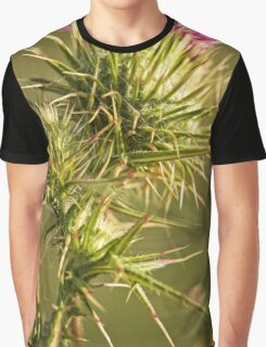 Green and Spikey (1) Graphic T-Shirt