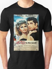 Grease Is The Word Poster Unisex T-Shirt