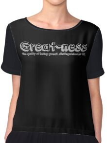 Great-ness Chiffon Top