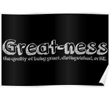 Great-ness Poster