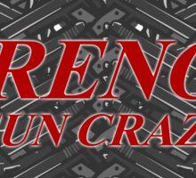 Drenge Gun Crazy Sticker