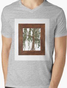 Full Summer Willow Mens V-Neck T-Shirt