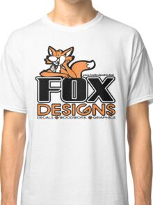 Fox Designs Etc Logo Classic T-Shirt