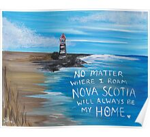 Nova Scotia Lighthouse Poster