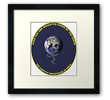 Science - Weightless Framed Print