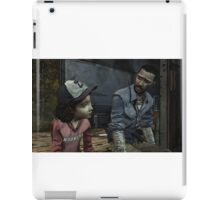 The Walking Dead-Clementine and Lee iPad Case/Skin