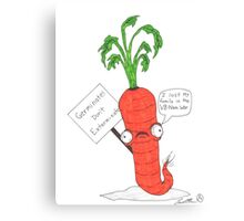 The prolific carrot Canvas Print