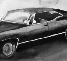 Baby - '67 Impala Sticker
